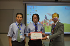 Congratulations to Prof. Sunny Leung, Prof. George Zhu, and Linh Hoang – Best Presentation Award